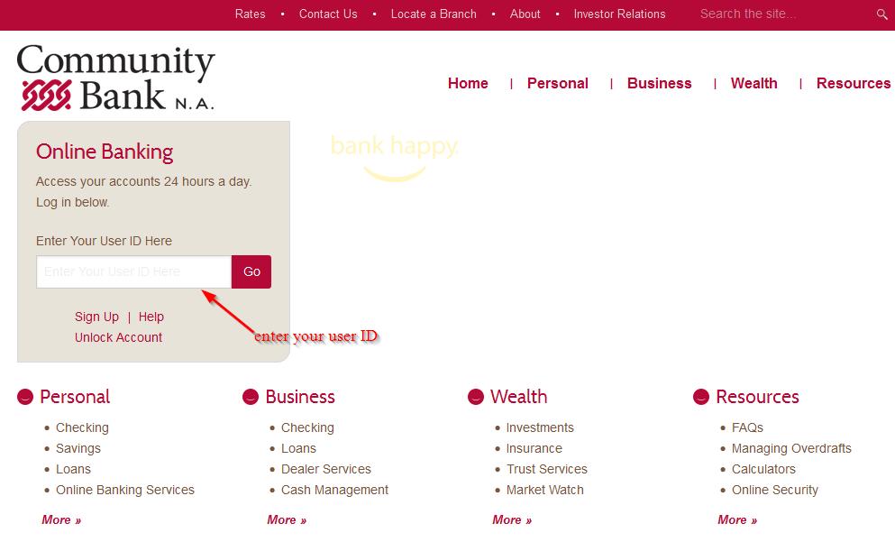 community-bank-step-2