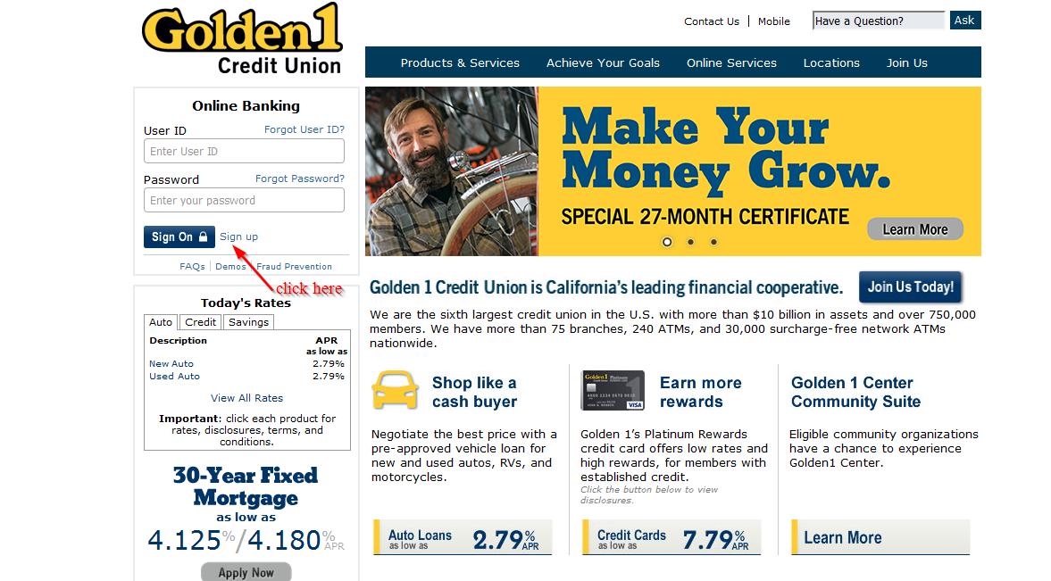 Credit bank online
