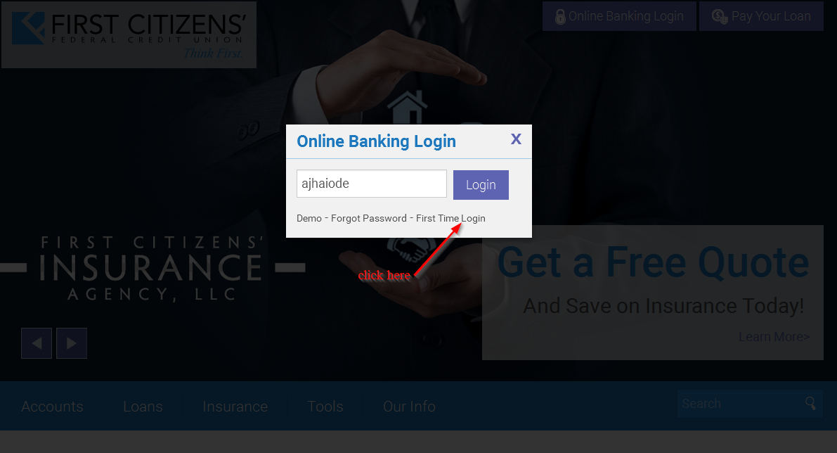 citizens bank credit card online banking login