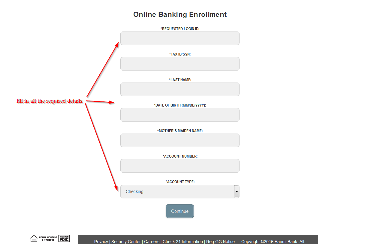 Hanmi Bank Online Banking Login ⋆ Login Bank