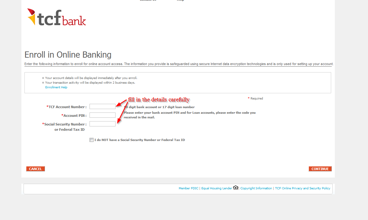 TCF Bank Online Banking Login ⋆ Login Bank