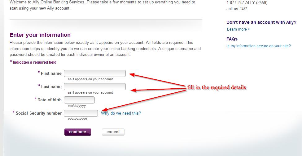 Ally Bank Auto Login >> Ally Bank Online Banking Login ⋆ Login Bank