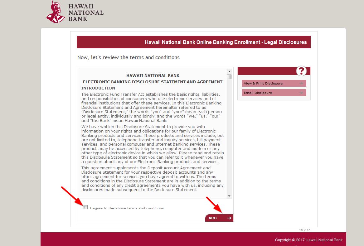 hawaii national bank online banking login - login bank