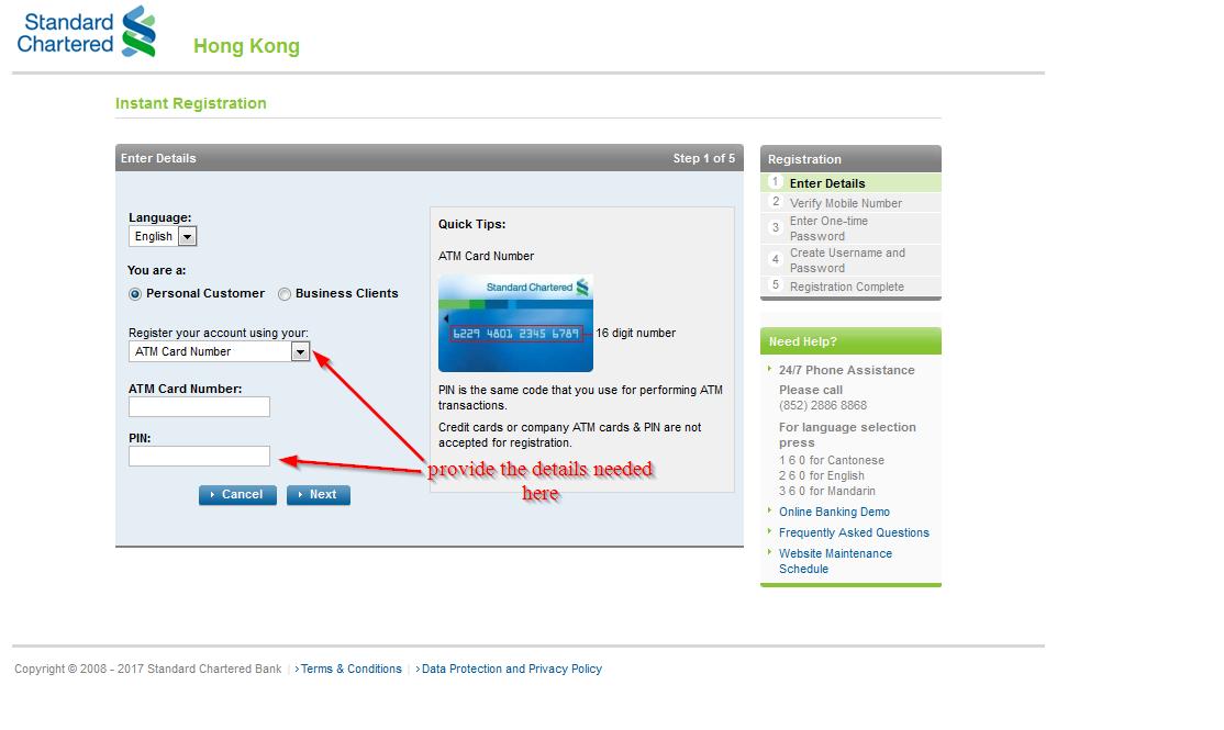 Standard Chartered Bank Online Banking Login ⋆ Login Bank