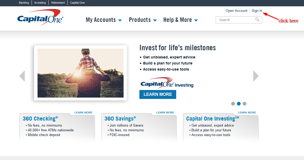 Capital One 360 Online Banking Login ⋆ Login Bank