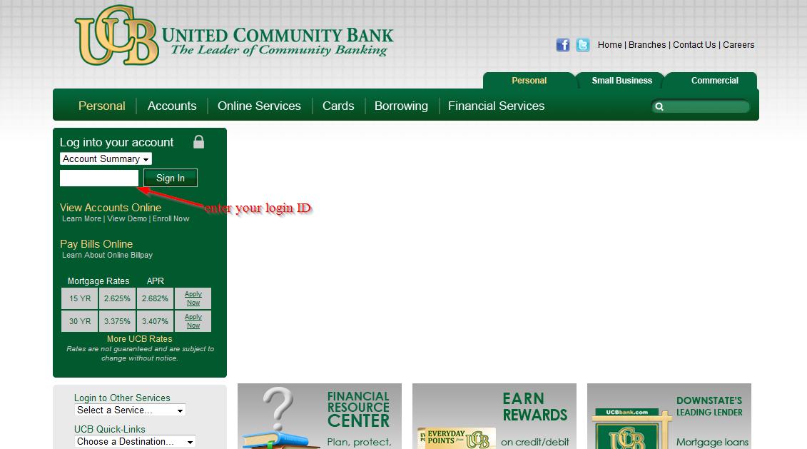 united community bank checking account