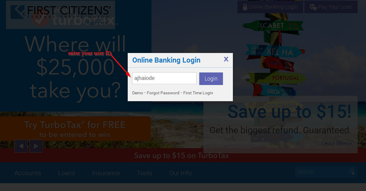 First tech federal credit union online banking login